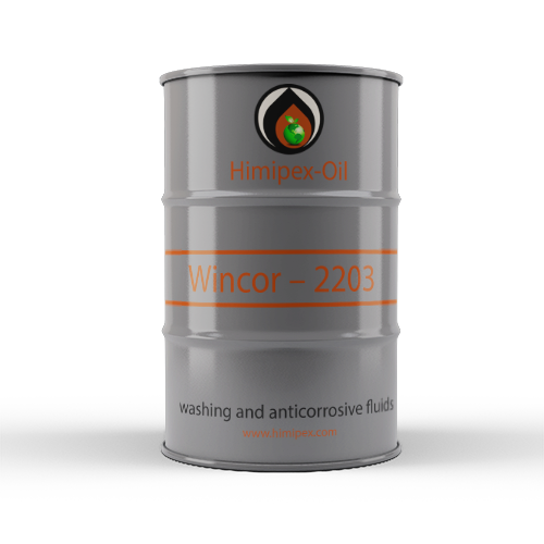 Washing and anticorrosive fluids of oil tankers WINCOR